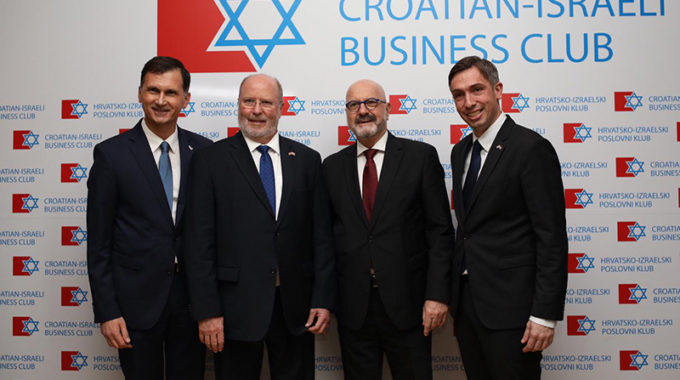 Season's Gathering 2019 & Announcement Next Year's Leading Croatian Businessmen Visit To Israel